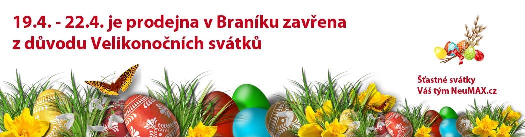 Velikonoční přání od Neumax.cz