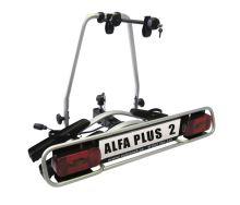 Nosič jízdních kol Wjenzek Alfa PLUS 2 ElektroPro (sklopný)