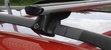 Střešní nosič ELSON pro DACIA Sandero Stepway, 5-dr SUV, r.v. 2013-> s podélnými nosiči