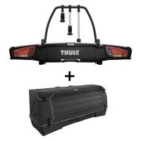 Nosič jízdních kol VeloSpace XT Thule 939 pro 3 jízdní kola + box Thule BackSpace XT 9383