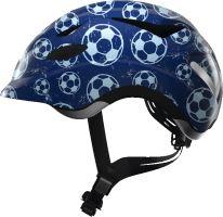 Přilba Anuky blue soccer S
