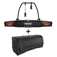 Nosič jízdních kol VeloSpace XT Thule 938 pro 2 jízdní kola + box Thule BackSpace XT 9383