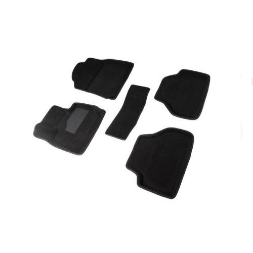 Koberce přesné textilní BMW X4, černé, 2014-