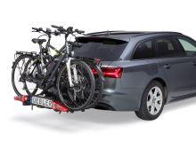 Nosič kol UEBLER i21, 2 jízdní kola (nejskladnější nosič na trhu) + transportní taška