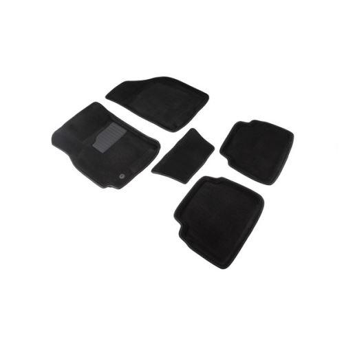 Koberce přesné textilní CHEVROLET Lacetti, černé, 2004-