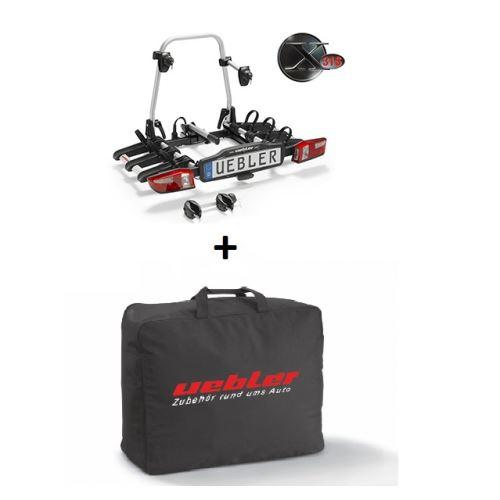 Nosič kol UEBLER X31 S, 3 jízdní kola (doporučeno pro elektrokola) + transportní taška