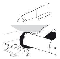 Tepelný štít pro zadní nosič jízdních kol, Thule EuroClassic G6 LED 929 a 928