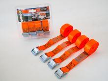 Popruh JUMBO 4 x 250cm / 250kg / orange