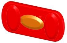 Zadní pravý kryt světlometu nosiče Uebler P22, P32, X21 nano, X31 nano (UE1558)