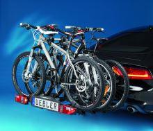 Zadní nosič jízdních kol UEBLER F32XL, 3 jízdní kola (doporučeno pro elektrokola)