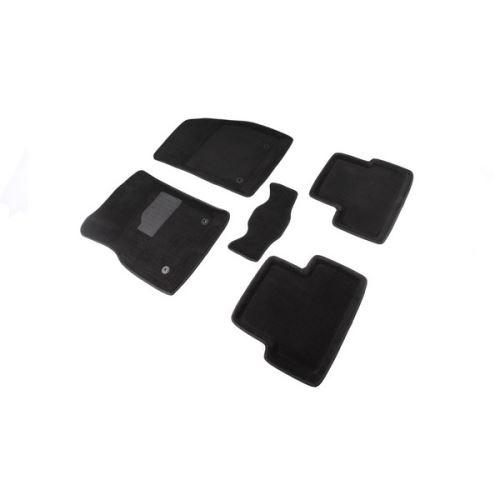 Koberce přesné textilní CHEVROLET CRUZE, černé, 2009-
