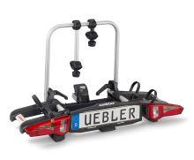 Zadní nosič jízdních kol UEBLER i21, pro 2 kola (nejskladnější nosič na trhu) 90° výklop