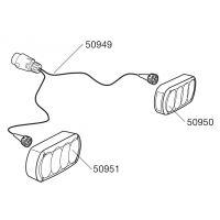 Kabel ke světlům nosiče na kola Thule (50949)