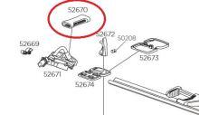 Guma na utahovací pásek k nosiči kol Thule ProRide 598 (52670)