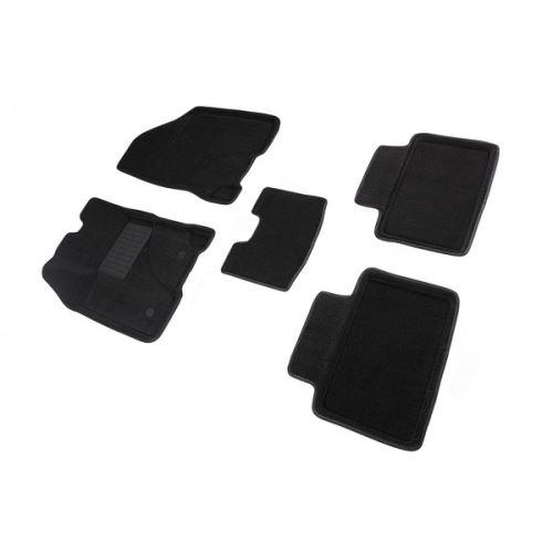 Koberce přesné textilní AUDI Q5, černé, 2010-