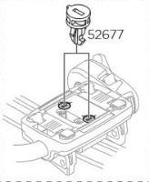 Cylindrický plastový zámek na nosiče Thule ProRide 598 (52677)